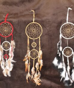 Large Dreamcatcher Black, White
