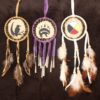 Painted Rawhide Shield Medicine Wheel
